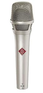 Gesangsmikrofon der Sängerin Annett